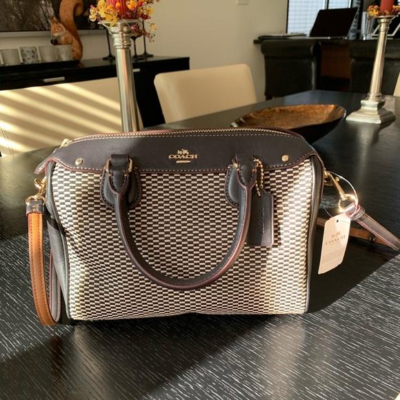Coach Handbags - Coach mini Bennett satchel NWT